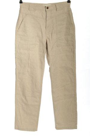 Ba&sh Spodnie z wysokim stanem w kolorze białej wełny W stylu casual