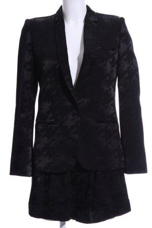 Ba&sh Hosenanzug schwarz abstraktes Muster Elegant