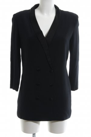 Ba&sh Jerseyblazer schwarz Business-Look