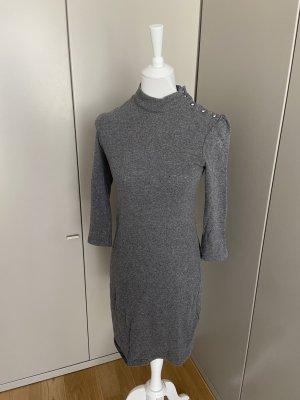 Ba&sh Vestido de lana gris