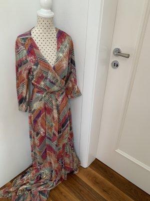 Ba&sh Kopertowa sukienka Wielokolorowy