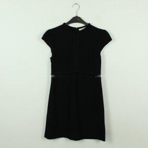Ba&sh Sukienka z krótkim rękawem czarny Poliester