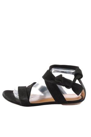 Ba&sh Sandalo comodo nero stile casual
