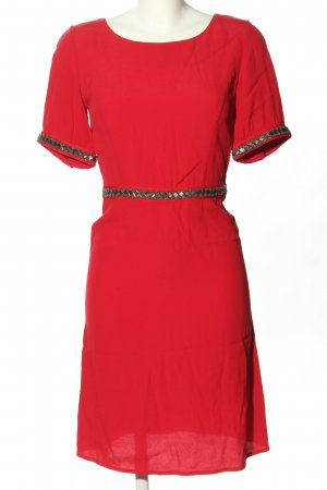 Ba&sh Kurzarmkleid rot Casual-Look