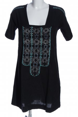 Ba&sh Sukienka z krótkim rękawem Wyhaftowany logo W stylu casual