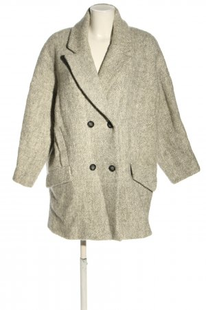 Ba&sh Short Coat natural white flecked casual look