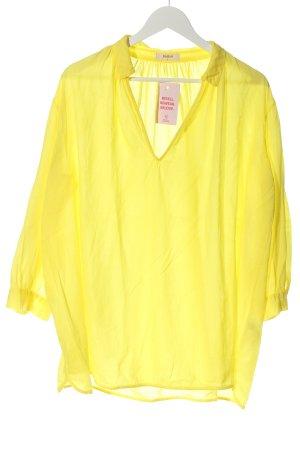 Ba&sh Bluzka z długim rękawem bladożółty W stylu casual