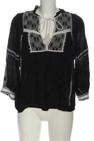 Ba&sh Bluzka z długim rękawem czarny W stylu casual