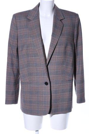 Ba&sh Long Blazer check pattern business style