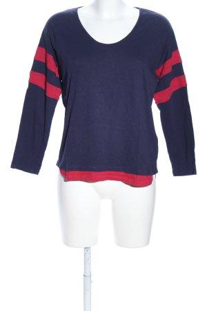 Ba&sh Koszulka z długim rękawem fiolet-czerwony W stylu casual