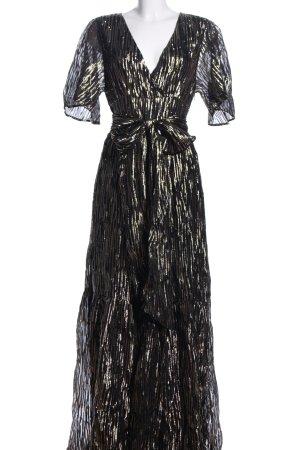 Ba&sh Robe longue motif rayé élégant