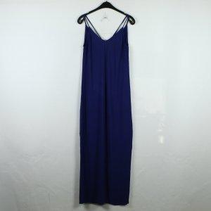 Ba&sh Robe longue bleu-bleu foncé viscose