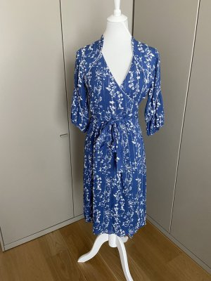 Ba&sh Sukienka midi stalowy niebieski