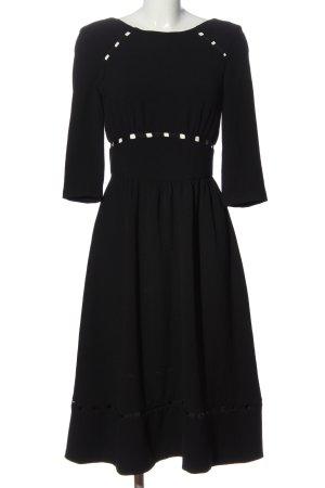Ba&sh Sukienka midi czarny W stylu casual