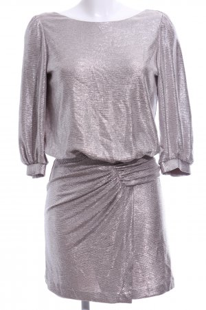 Ba&sh Mini Dress light grey flecked elegant