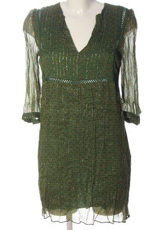 Ba&sh Sukienka mini Łączone wzory Z połyskiem