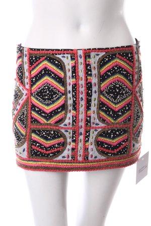 Ba&sh Spódnica mini czarny-łosowiowy Ekstrawagancki styl