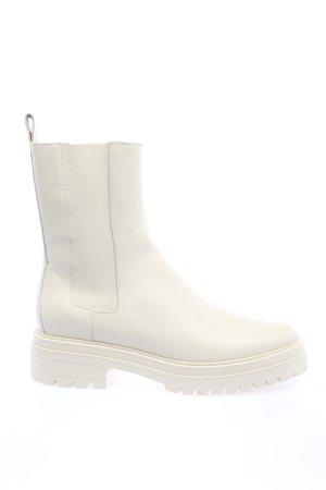 Ba&sh Wciągane buty za kostkę biały W stylu casual