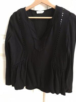 Ba&sh Bluzka z długim rękawem czarny
