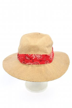 Ba&sh Cappello parasole motivo astratto stile casual