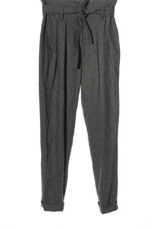 Ba&sh Pantalon en jersey gris clair style d'affaires