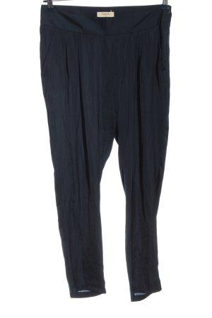 Ba&sh Pantalon en jersey bleu style décontracté