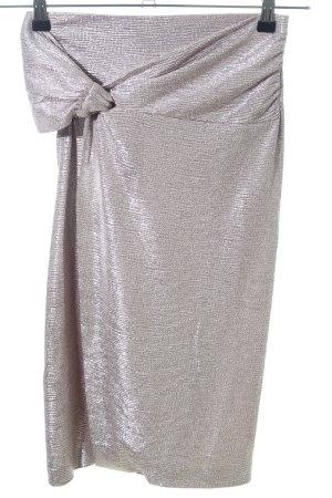 Ba&sh Stretchrock silberfarben Elegant