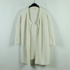 Ba&sh Manteau en tricot blanc coton