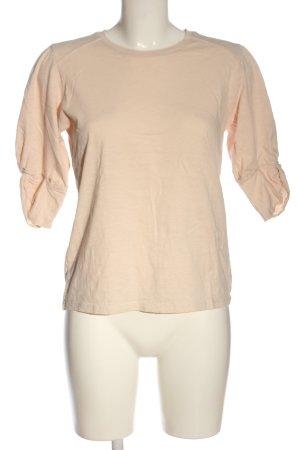 Ba&sh T-shirt kremowy W stylu casual