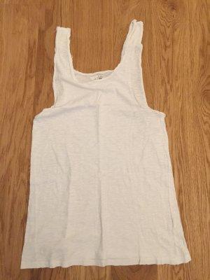 Ba&sh Długi top w kolorze białej wełny