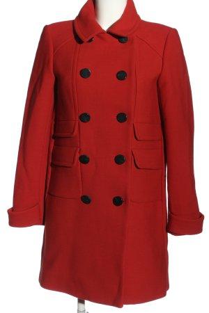 Ba&sh Płaszcz przejściowy czerwony W stylu biznesowym