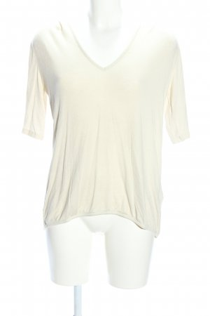 Ba&sh V-Ausschnitt-Shirt creme Casual-Look