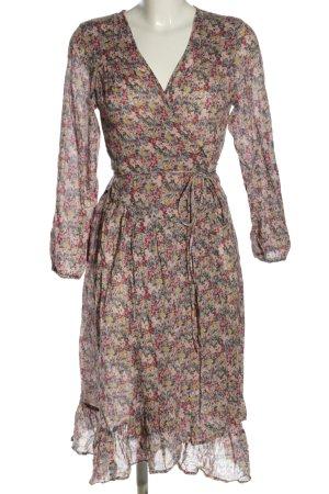 Ba&sh Kopertowa sukienka Na całej powierzchni W stylu casual
