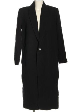 Ba&sh Cappotto in lana nero stile casual
