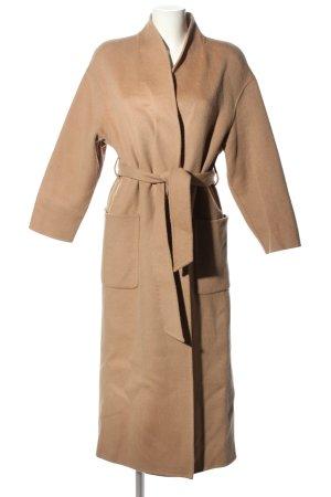Ba&sh Manteau en laine rose chair style décontracté