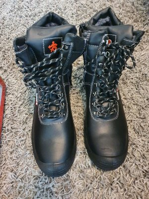 BAAK German Lace-up Boots black
