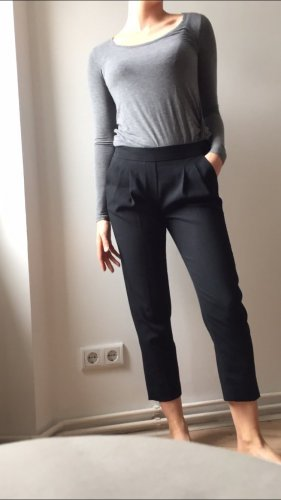 1--01 Babaton 7/8-broek zwart Rayon
