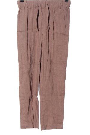 Babaton Spodnie materiałowe różowy W stylu casual