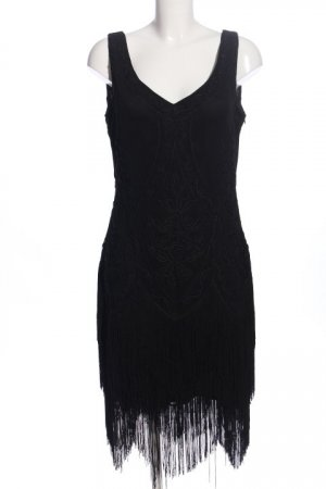 BABEYOND Fringed Dress black casual look