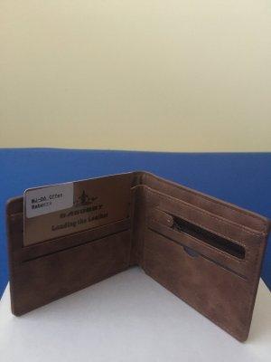 Baborry Geldbörse Brieftaschen (weiches-PU-Leder)Original-Coffee Braun