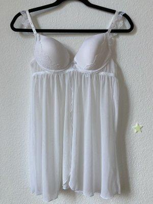C&A Conjunto de lencería blanco