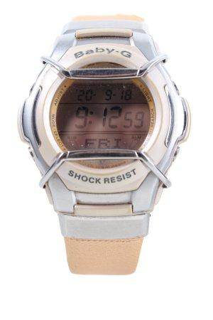 Baby-G Zegarek automatyczny srebrny-nude W stylu biznesowym