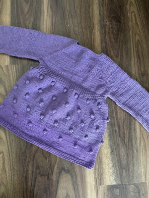 Baby Kleid Handarbeit 98-104