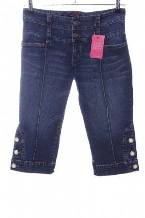 Baby Phat 3/4-jeans blauw casual uitstraling