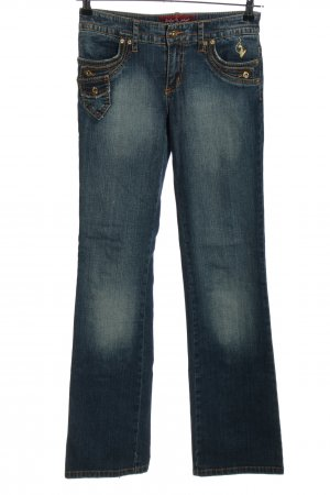 Baby Phat Jeans svasati blu stile casual