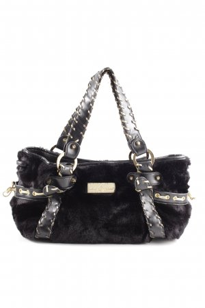 Baby Phat Handbag black-gold-colored extravagant style