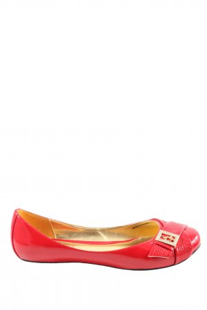 Baby Phat Patent Leather Ballerinas red casual look