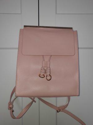 Zara Basic Zaino laptop rosa chiaro-rosa pallido