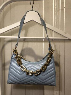 Babyblaue Tasche
