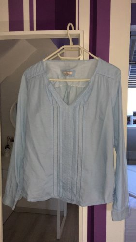 Babyblaues Langarm Hemd